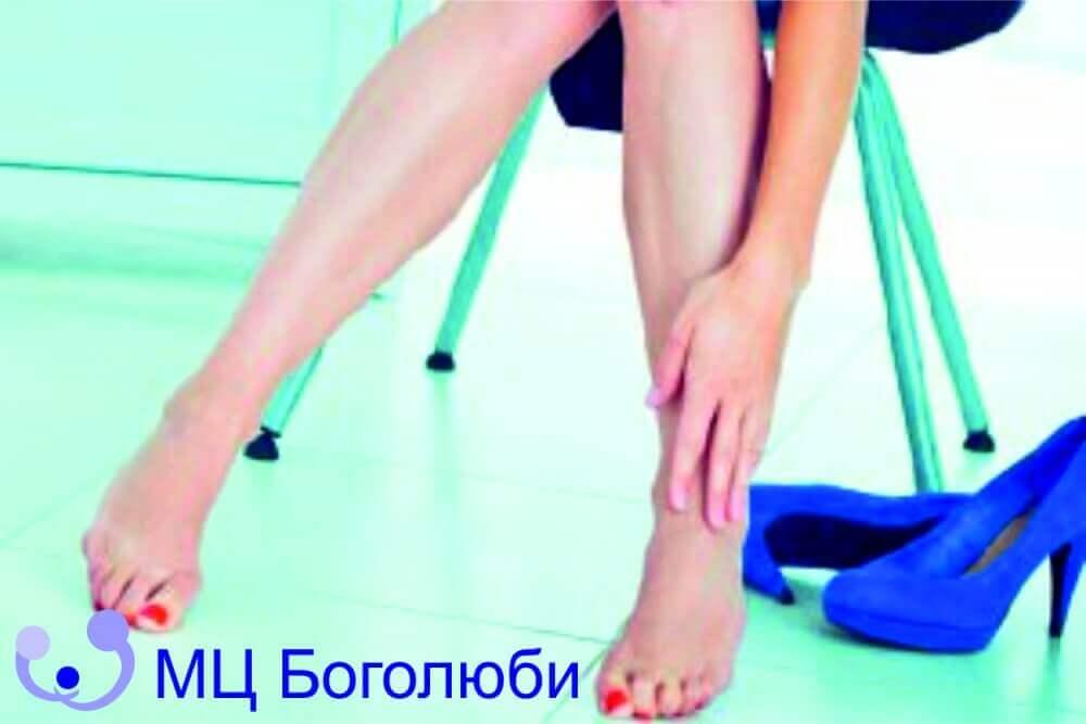 Ноги болят после сна